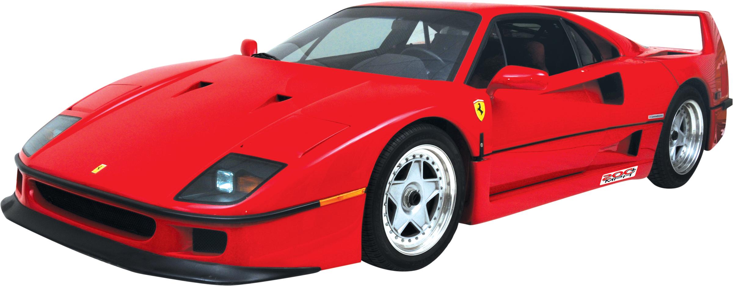 exotic-cars - F - Ferrari F40